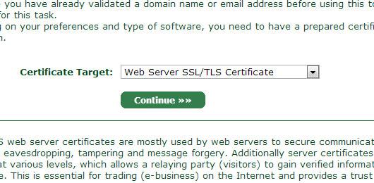 generate ssl csr